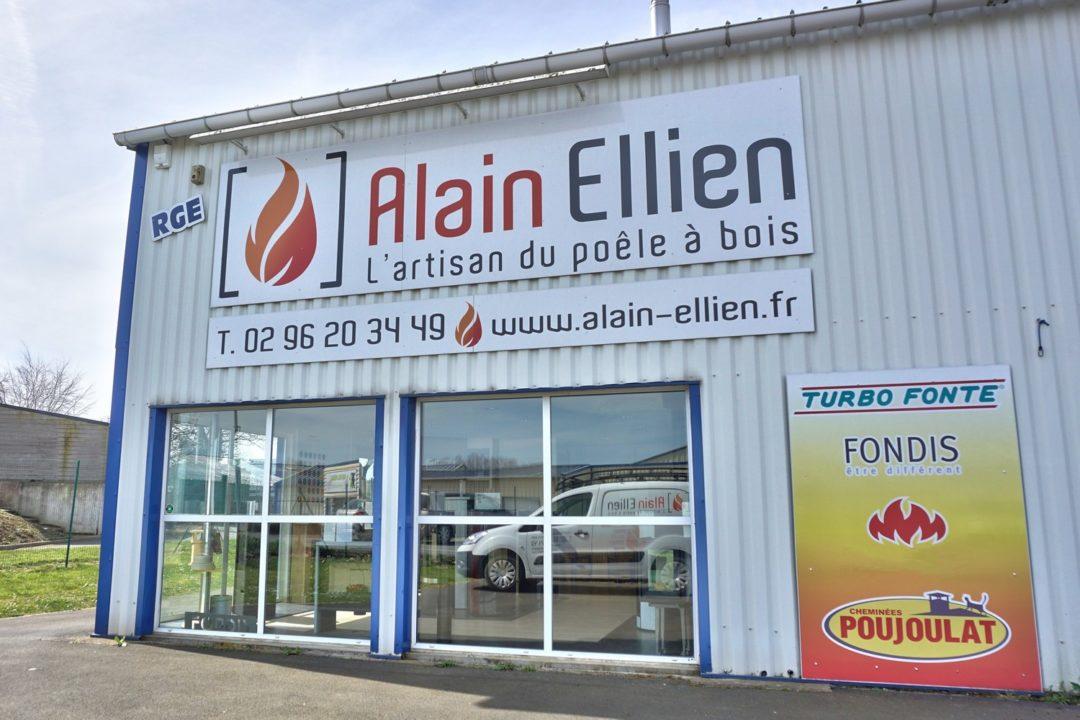 Alain Ellien Poêles et Cheminées Plouha (22)